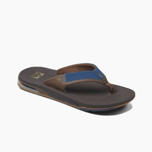 REEF MENS FLIP FLOPS.FANNING LOW NAVY ARCH SUPPORT THONGS SANDALS SHOES 9S 3 NBO